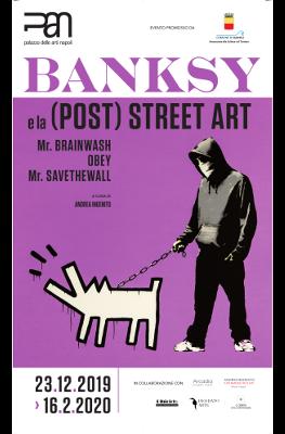 Banksy e altri street artist sono in mostra al PAN di Napoli con circa 70 opere