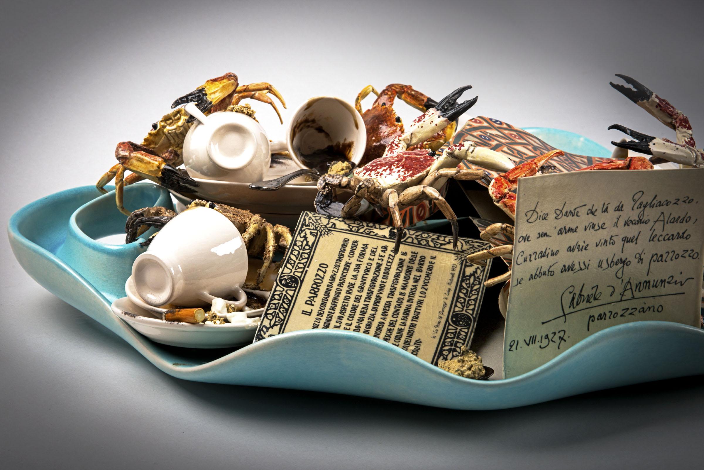 Le composizioni in ceramica di Bertozzi & Casoni in mostra al MARCA di Catanzaro