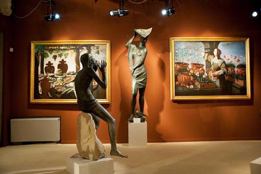 Firenze, presentata la 31a Biennale Internazionale dell'Antiquariato. Tra le star: Bernini, Canaletto, Beccafumi e Lucio Fontana
