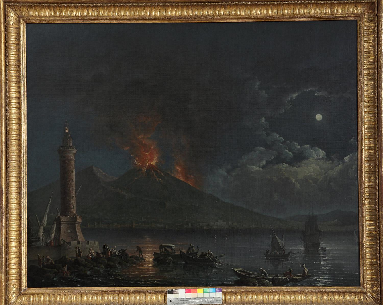 Il Vesuvio nella storia dell'arte da De Nittis a Burri e Warhol, tra fascino e paura. In mostra a Napoli
