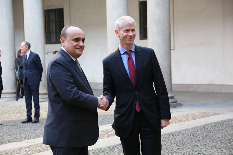 """Il ministro Bonisoli: """"Collaboreremo con la Francia per celebrare Leonardo. Presto l'elenco delle opere che andranno in prestito"""""""
