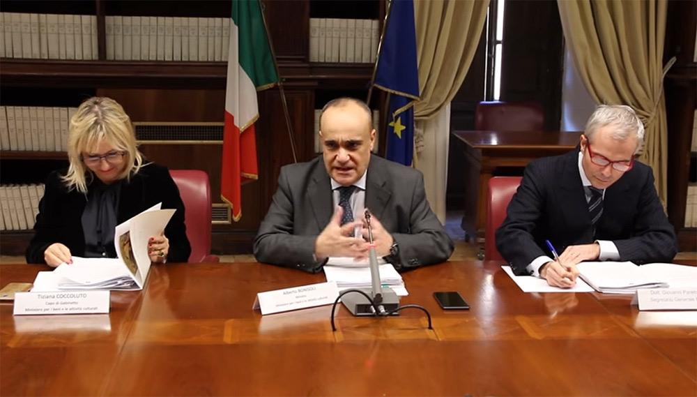Opere trafugate dall'Italia e finite all'estero, ecco cosa è stato detto alla riunione del MiBAC