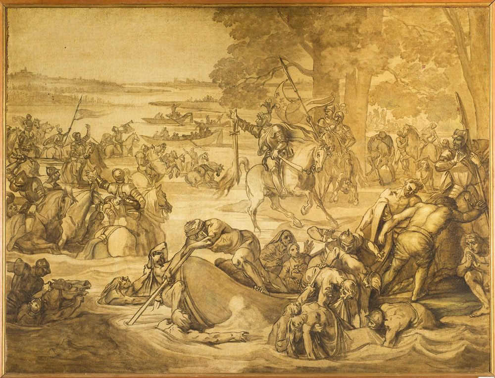 Le Gallerie degli Uffizi acquistano il bozzetto preparatorio del Giovanni dalle Bande Nere di Giuseppe Bezzuoli