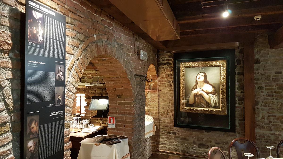 Imprenditore compra quattro opere di Guido Cagnacci e le espone nel suo ristorante a Santarcangelo di Romagna