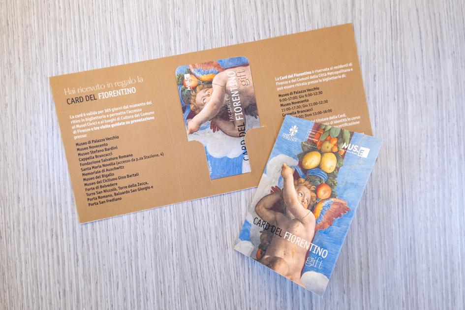 La Card del Fiorentino in versione Gift per un'idea regalo di Natale