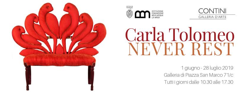 Venezia, le sedie-sculture di Carla Tolomeo alla Fondazione Bevilacqua La Masa