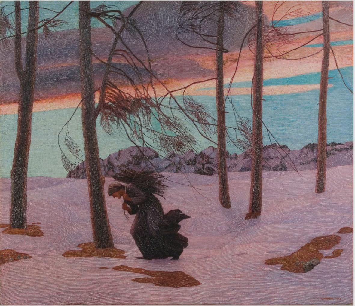 Continua la riscoperta di Carlo Fornara, artista divisionista. Una mostra ad Aosta con ottanta opere vuole sciogliere i preconcetti