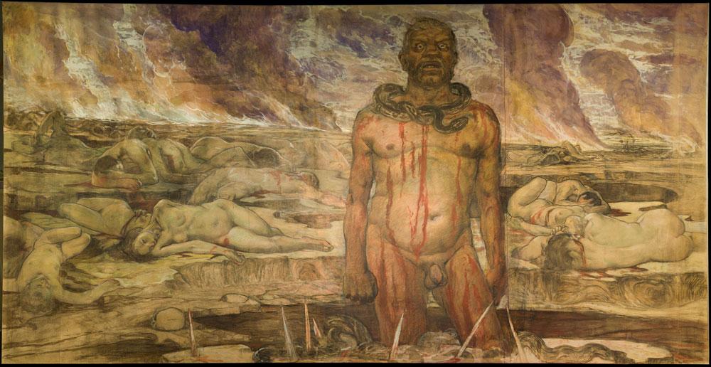 Palazzo Pitti ricorda la Notte dei Ponti con l'esposizione del Dittatore folle di Galileo Chini