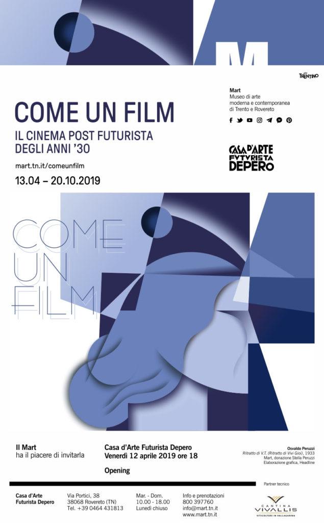 Il cinema post futurista degli anni Trenta è in mostra alla Casa Depero di Rovereto