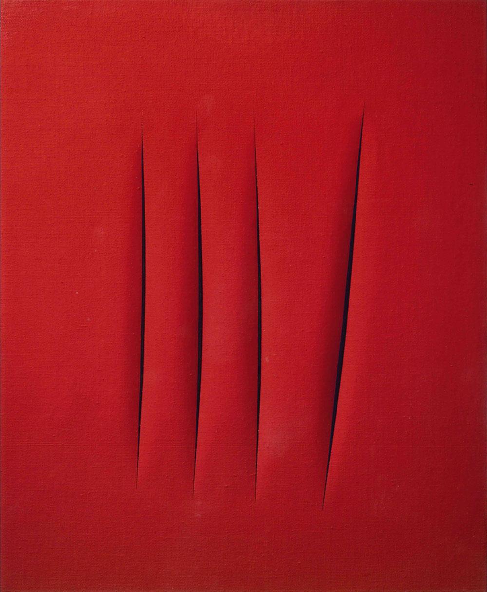 Una mostra ad Aosta ripercorre l'ombra lunga di Lucio Fontana