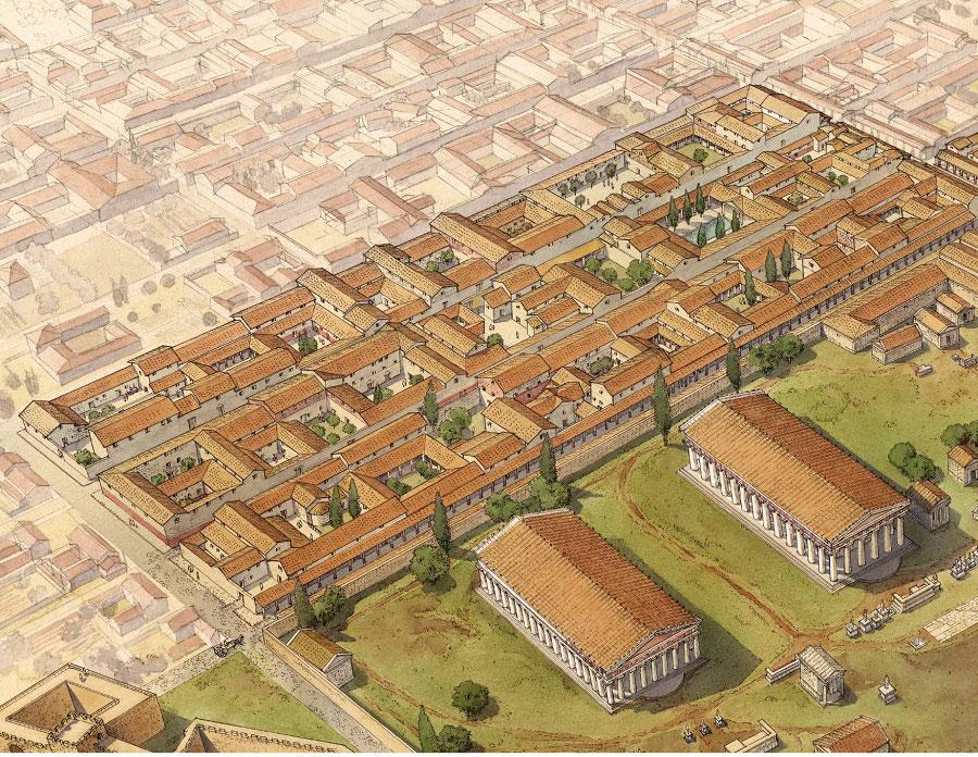 Dove e come si abitava nella Magna Grecia in epoca classica? Un convegno a Paestum