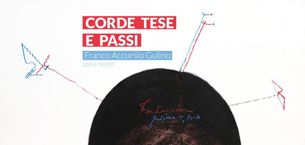 Le più recenti opere di Franco Accursio Gulino in mostra a Palermo