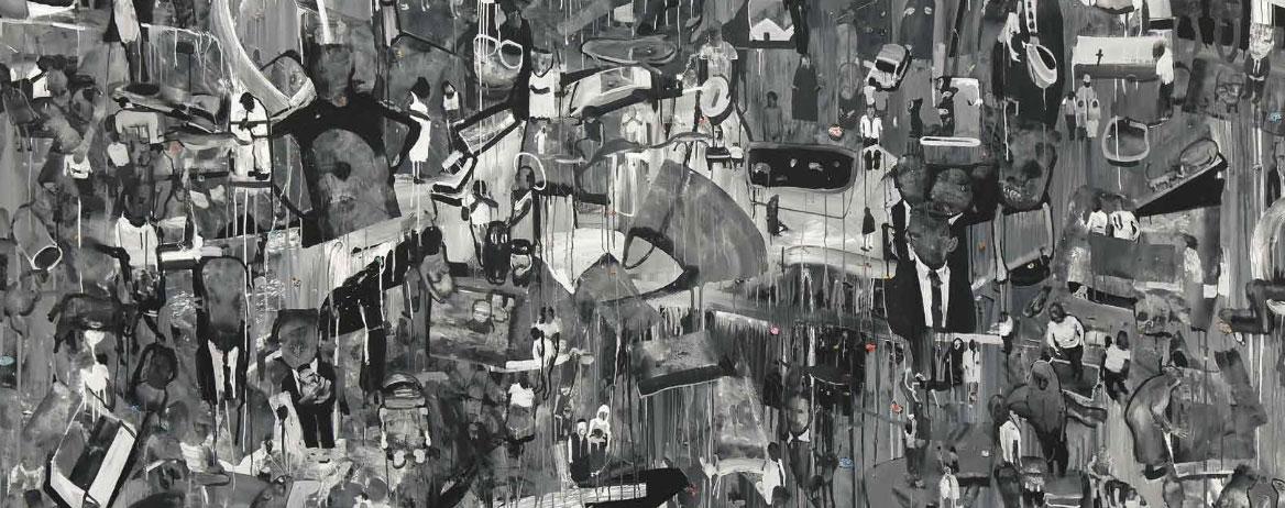 """Ravenna, con il caos di """"Anything"""" di Daniele Galliano riparte il programma """"Ascoltare Bellezza"""""""