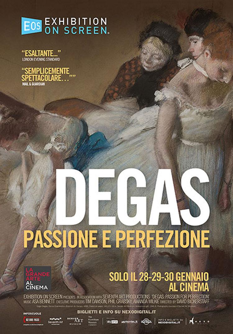 Inizia con Degas la stagione 2019 de La Grande Arte al Cinema