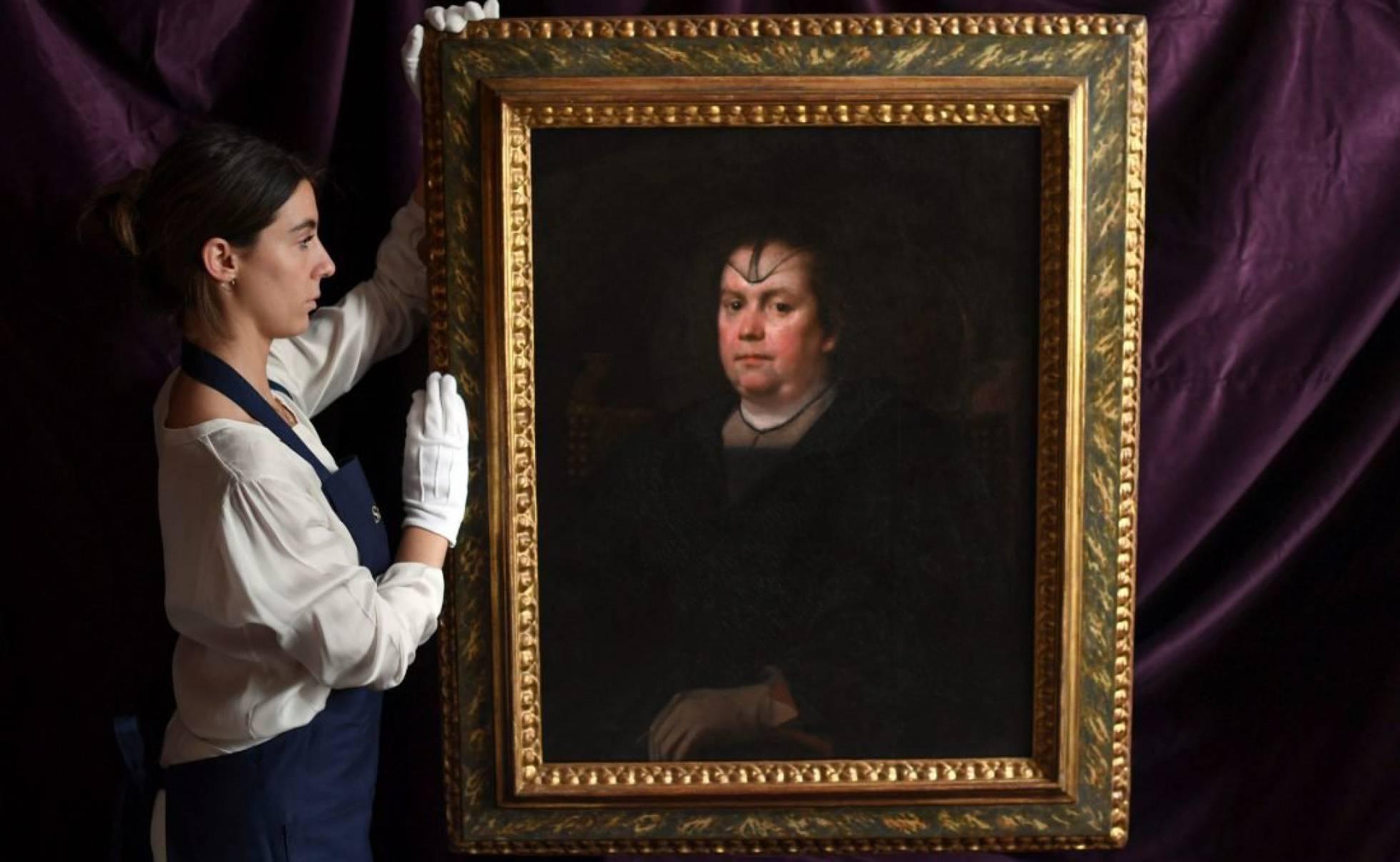 """La """"Papessa"""" in asta da Sotheby's: in vendita il ritratto di Olimpia Maidalchini Pamphilj eseguito da Velázquez"""