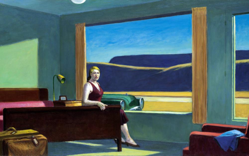 Dormire dentro un quadro di Hopper: da ottobre si può. Ricreata la stanza di un suo famoso quadro