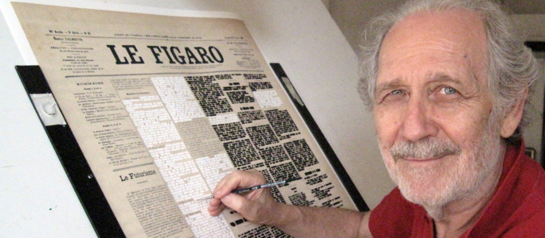 """Emilio Isgrò rilegge la Battaglia di Anghiari di Leonardo da Vinci. """"Cercherò di fare un lavoro che parli a tanti"""""""
