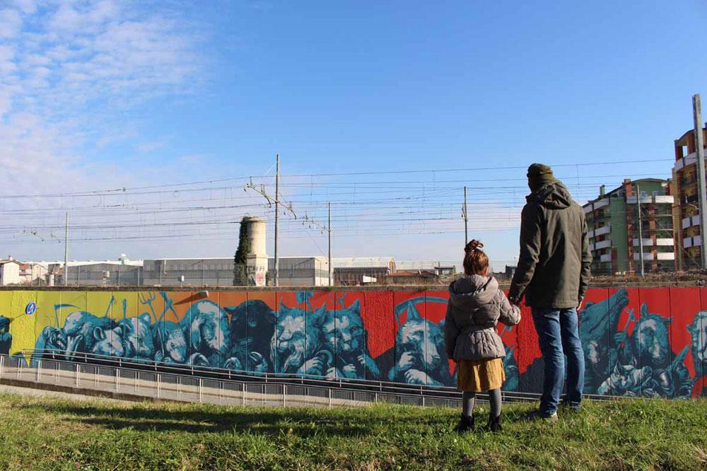A Bassano del Grappa un progetto di rigenerazione urbana affidato a street artists