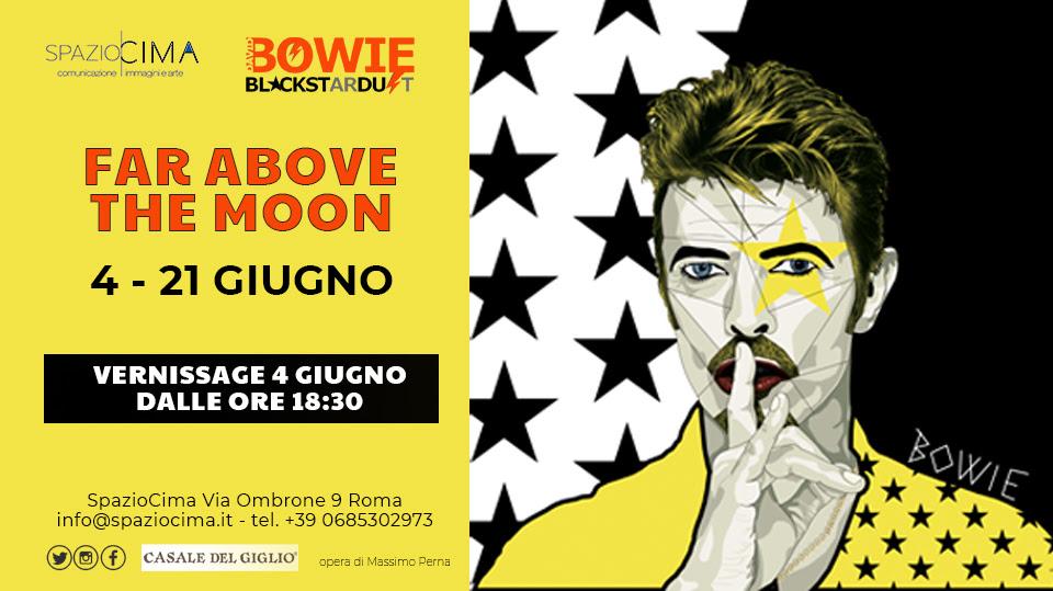 A Roma torna la mostra collettiva dedicata a David Bowie nei locali di SpazioCima