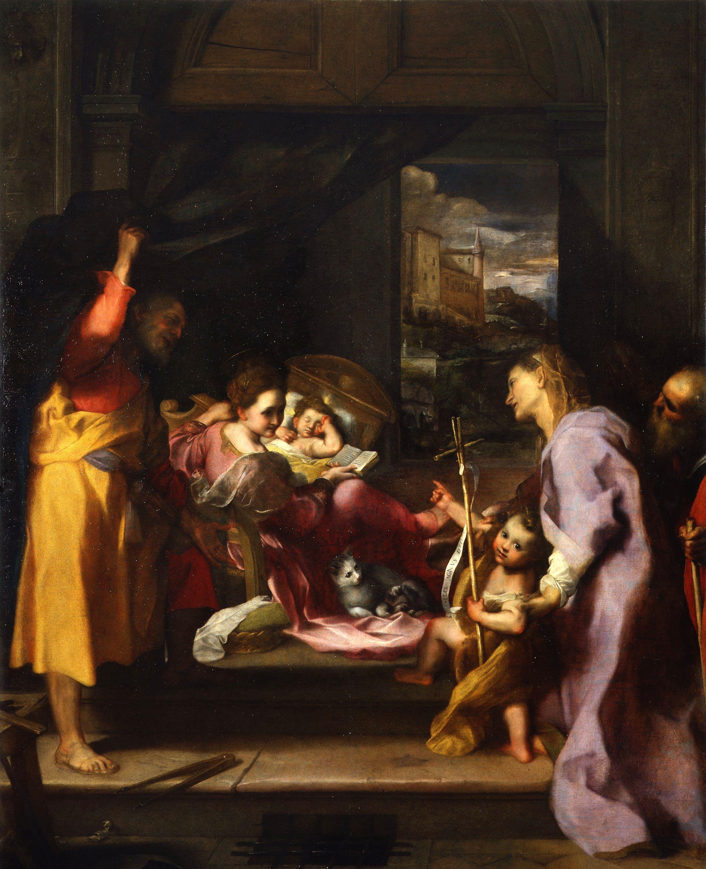 La Madonna della Gatta, capolavoro di Federico Barocci, esce dai depositi degli Uffizi e torna visibile