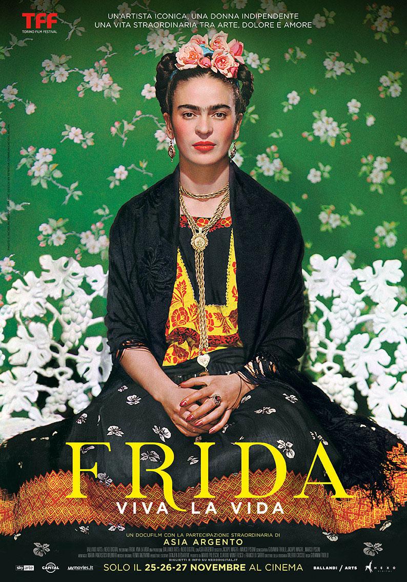 Presentato in anteprima a Torino il nuovo docu-film dedicato a Frida Kahlo. Al cinema dal 25 al 27 novembre 2019