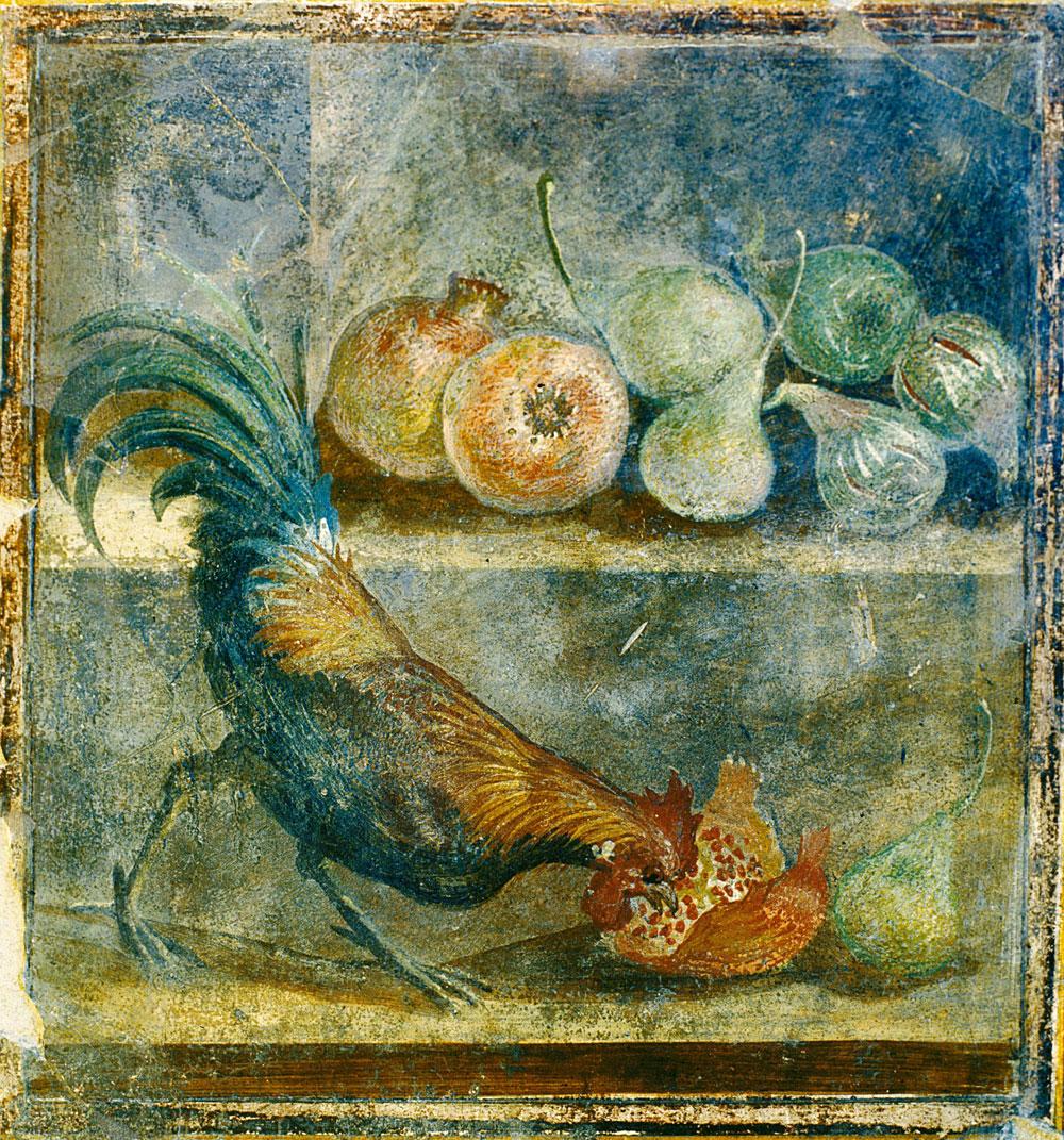 Una mostra all'Ashmolean Museum di Oxford analizza le abitudini culinarie dei pompeiani