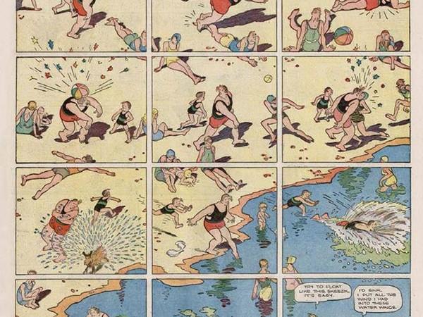 Gasoline Alley, un classico del fumetto: a Bologna una mostra sulla famosa striscia