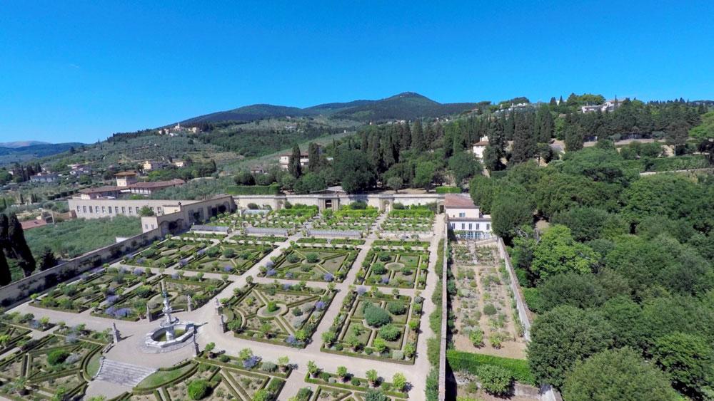 Visite guidate gratuite al Giardino della Villa medicea di Castello