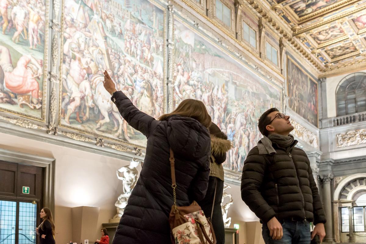 I ragazzi dei licei di Firenze spiegano le opere dei musei per l'Alternanza Scuola Lavoro