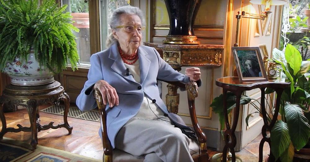 """La presidente onoraria del FAI Giulia Maria Crespi sul Cara di Castelnuovo: """"mi vergogno di essere italiana"""""""