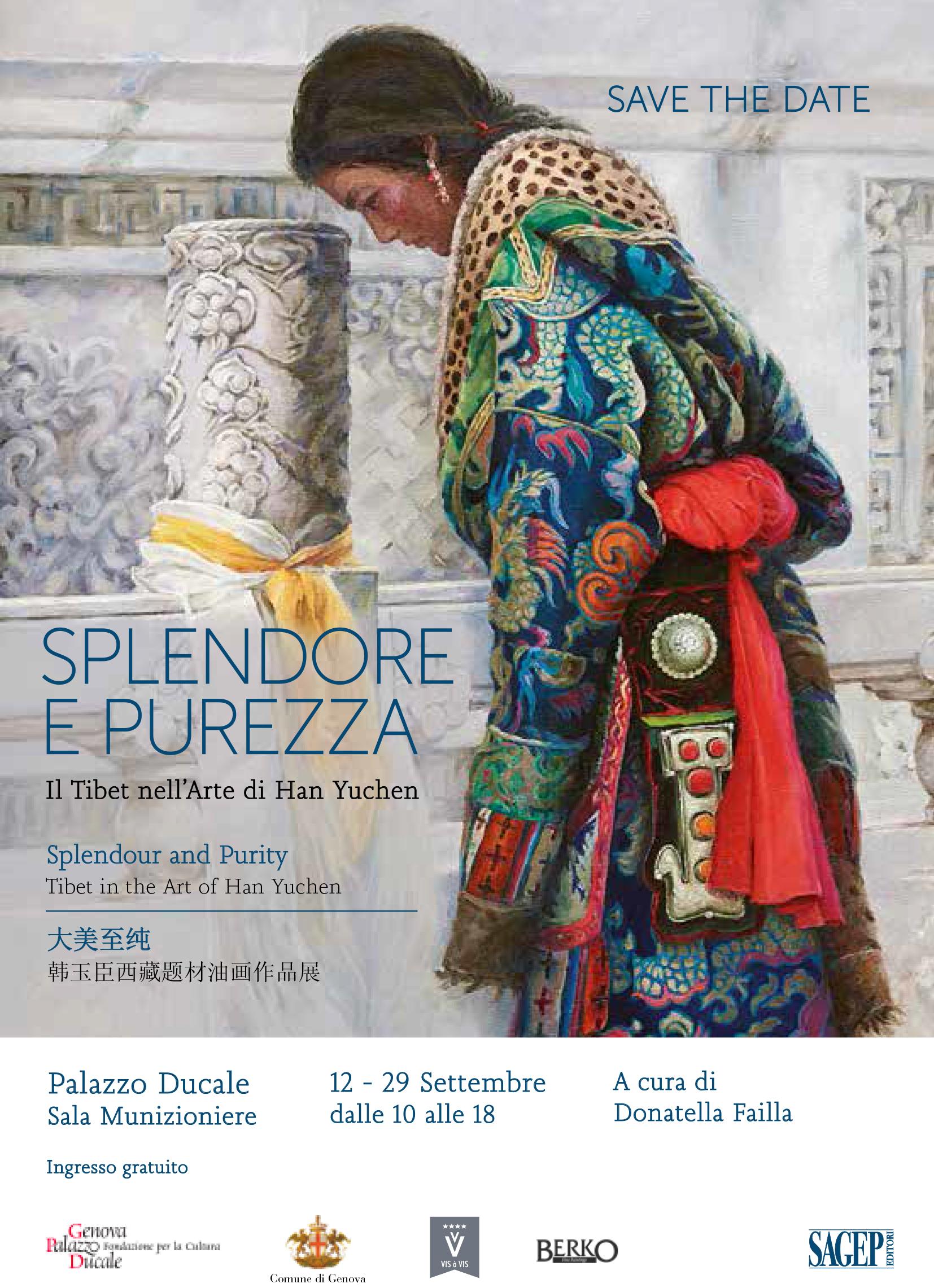 A Genova in mostra a Palazzo Ducale il Tibet nell'arte di Han Yuchen