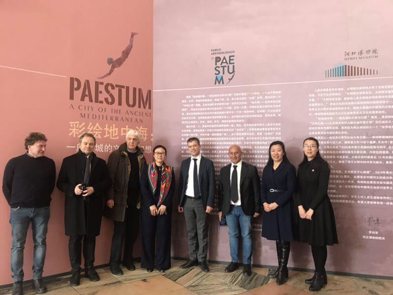 Paestum conquista la Cina: inaugurata la mostra dedicata a Paestum, città del Mediterraneo antico