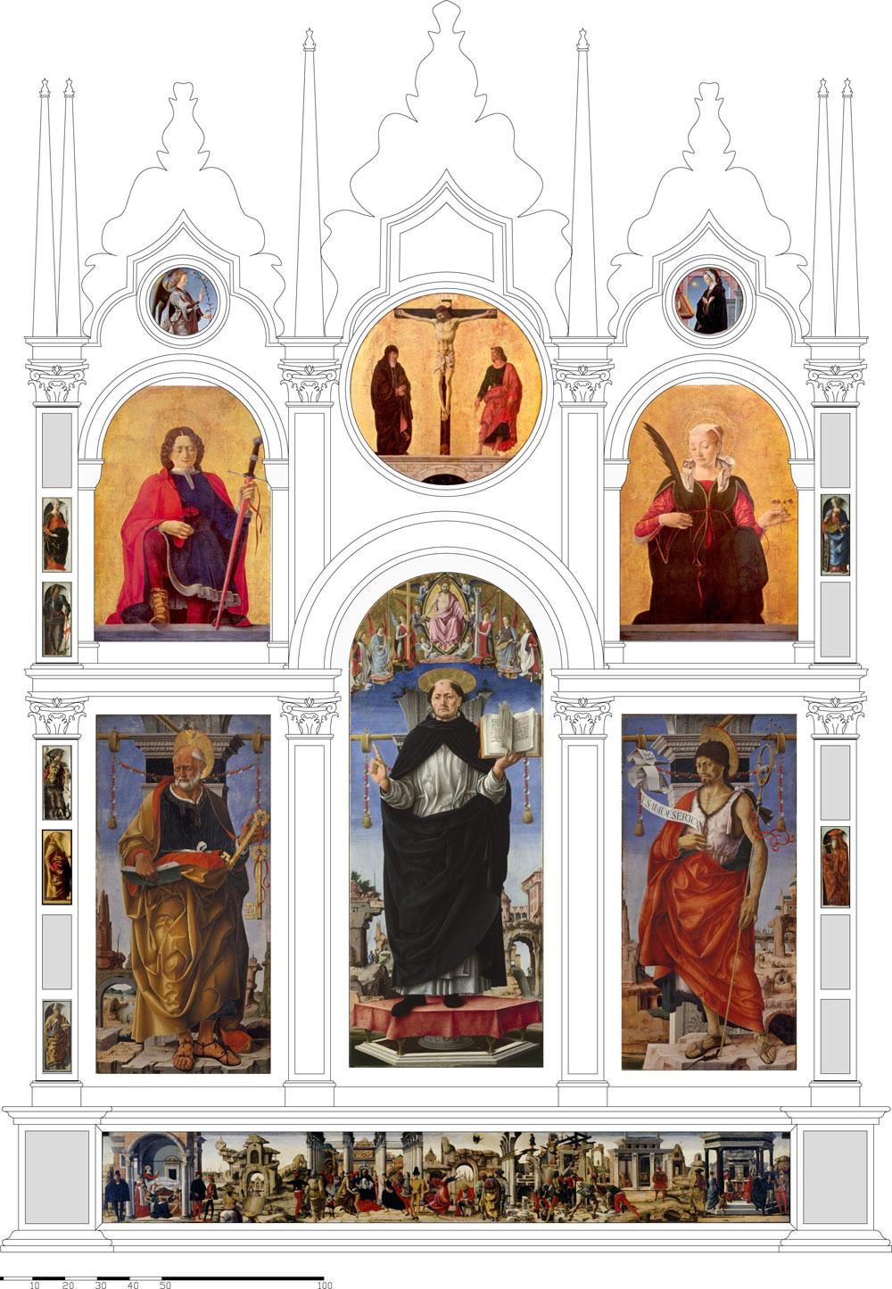 Si riunisce a Bologna, dopo 300 anni, il Polittico Griffoni, capolavoro di Francesco del Cossa ed Ercole de' Roberti