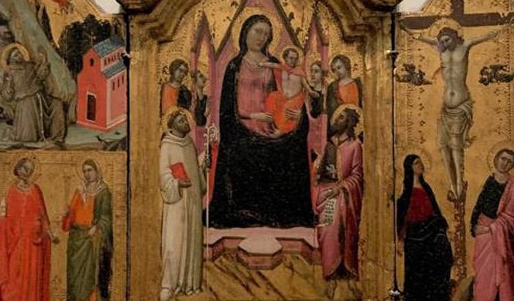 Firenze, scambio di opere tra Uffizi e Accademia con tre trittici del Trecento