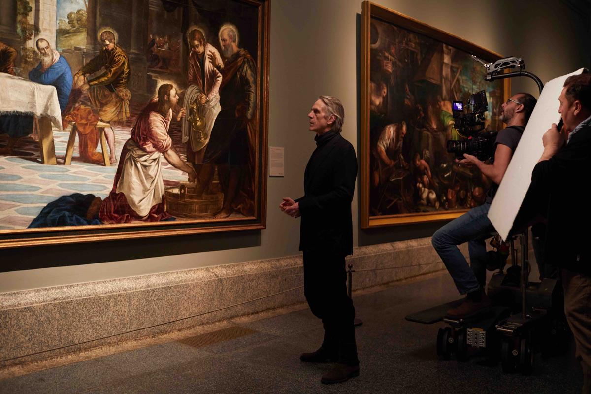 Il Premio Oscar Jeremy Irons racconta il Museo del Prado al Cinema. Dal 15 aprile