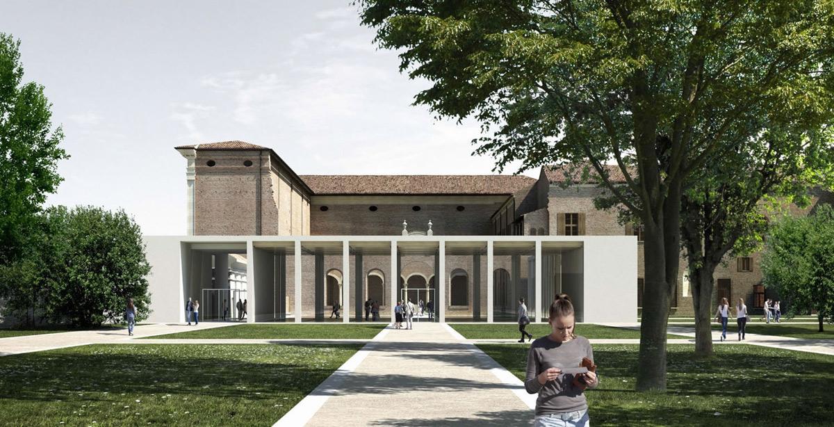 Ferrara, Palazzo dei Diamanti non è in pericolo: la contropetizione a sostegno dei lavori di addizione