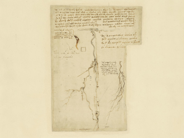 Milano, l'Ambrosiana esamina gli anni francesi di Leonardo da Vinci mettendo in mostra 23 fogli del Codice Atlantico