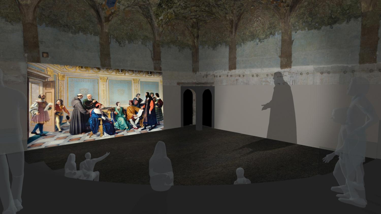 Milano, riapre la Sala delle Asse, il capolavoro di Leonardo da Vinci al Castello Sforzesco