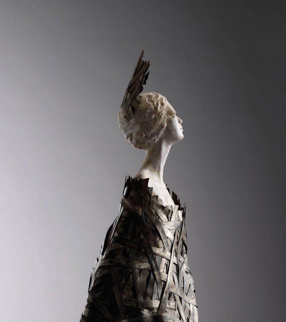 In mostra al Museo Marino Marini le sculture di Louise Manzon