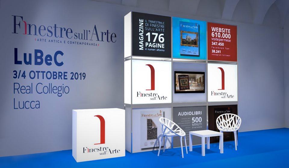 Finestre sull'Arte presente con il suo stand a LuBeC 2019