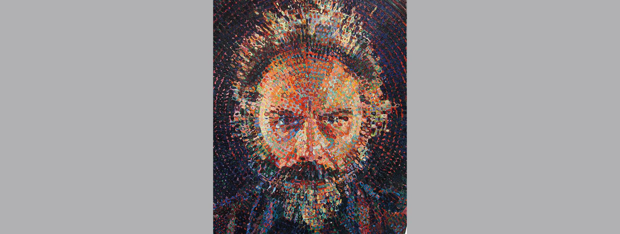 A Ravenna i mosaici di Chuck Close esposti in una mostra