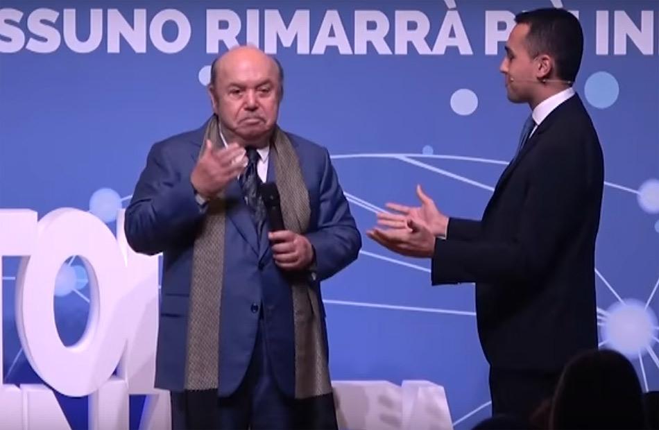 """Di Maio: """"il governo nomina Lino Banfi nella Commissione per l'UNESCO"""". L'attore: """"porterò sorriso nei posti seri"""""""