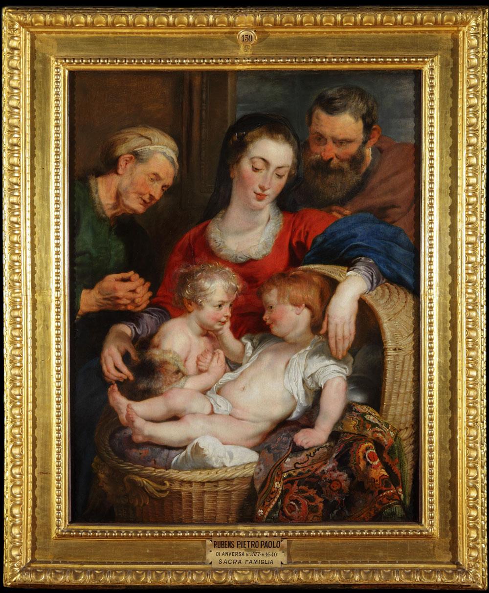 Dopo oltre tre anni di restauro la Madonna della cesta di Rubens torna a Palazzo Pitti