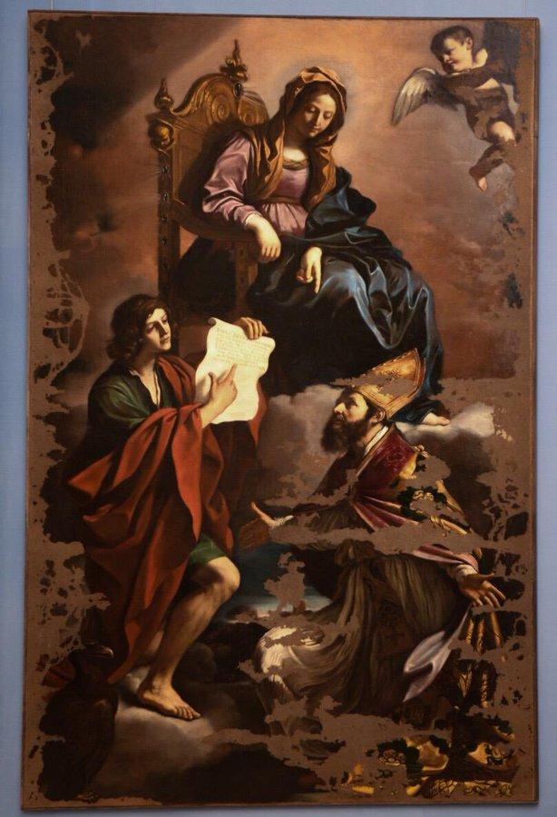 L'opera del Guercino rubata nel 2014 torna visibile dopo il restauro. Esposta alla Galleria Estense di Modena