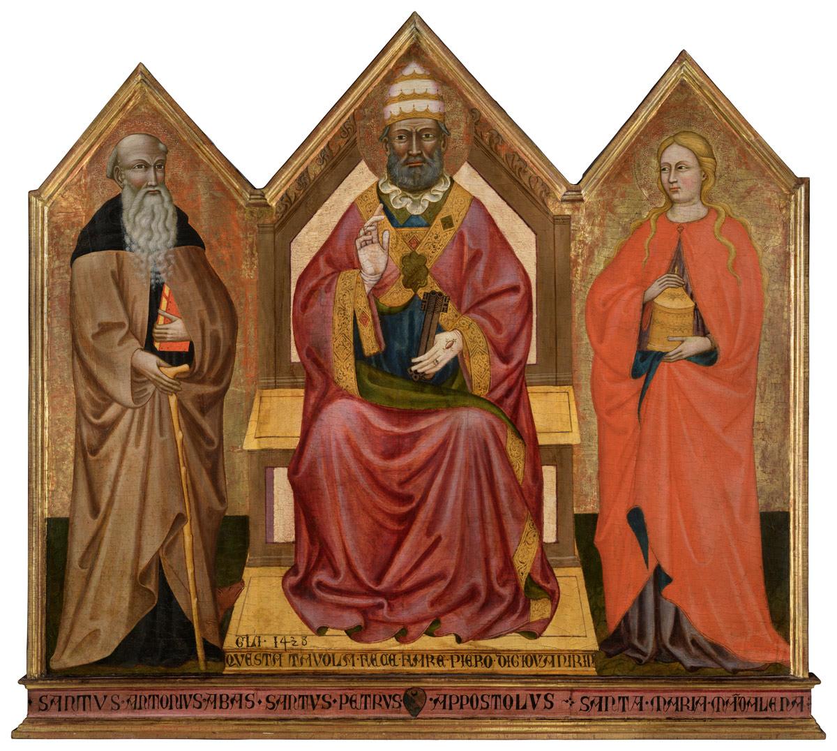 Avenza, una parrocchia tenta il miracolo: riportare a casa un trittico del 1438 uscito dalla chiesa secoli fa