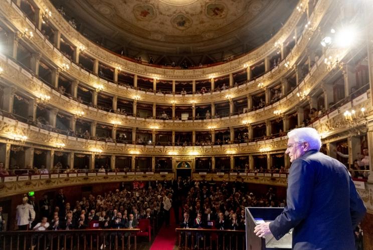 """Il presidente Mattarella: """"i prestiti temporanei di capolavori di artisti del passato fanno circolare la cultura"""""""