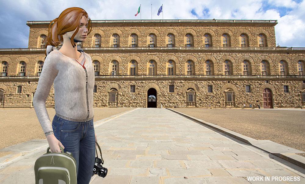 Quest'autunno arriverà The Medici Game, il videogioco ambientato nelle sale di Palazzo Pitti