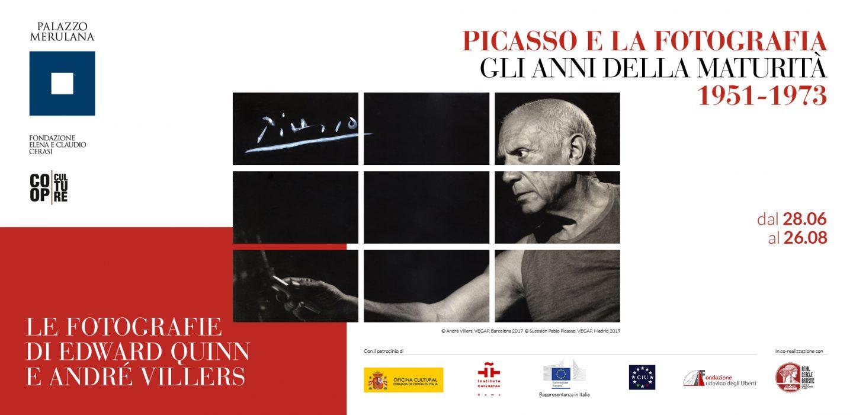 La maturità di Picasso raccontata con le foto di Quinn e Villers in mostra a Roma a Palazzo Merulana