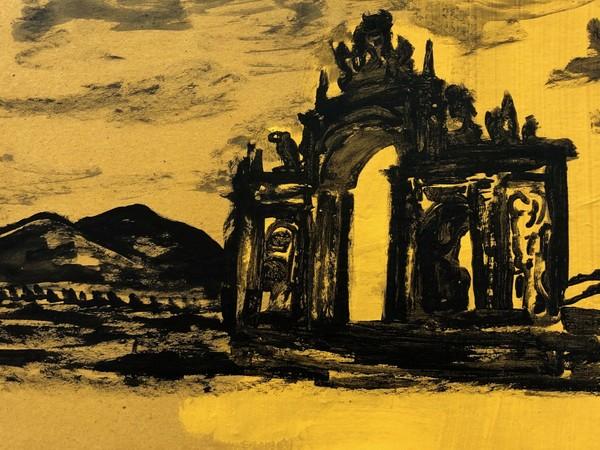 """A Napoli la personale di Michael Rotondi intitolata """"Ca piogg' dint' 'o cor'"""""""