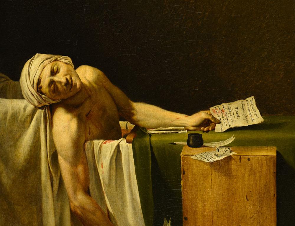 Jacques-Louis David e Caravaggio a confronto a Palazzo Zevallos di Napoli
